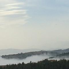 La nebbia agli irti colli #abruzzo
