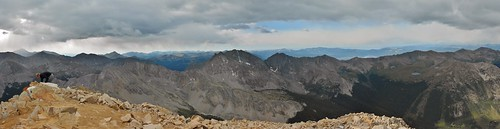 Huron Peak Summit Panorama South