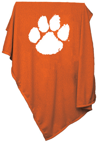 CLEMSON TIGERS NCAA Sweatshirt Blanket