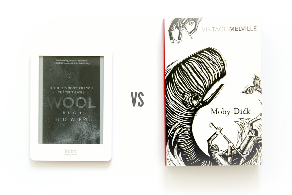 E-reader vs Book