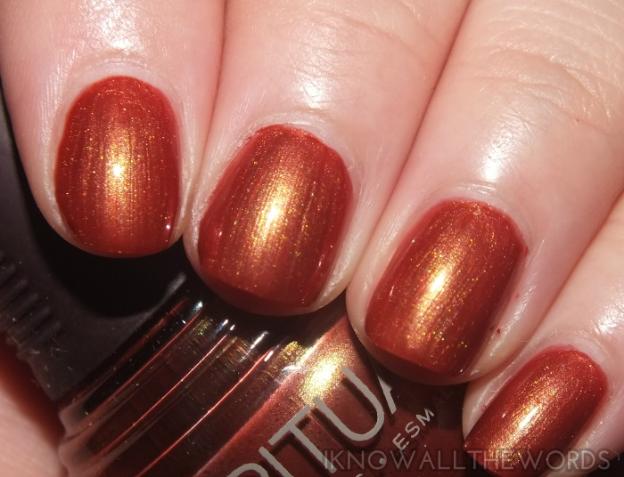 SPARitual nail lacquer- Fall in Love