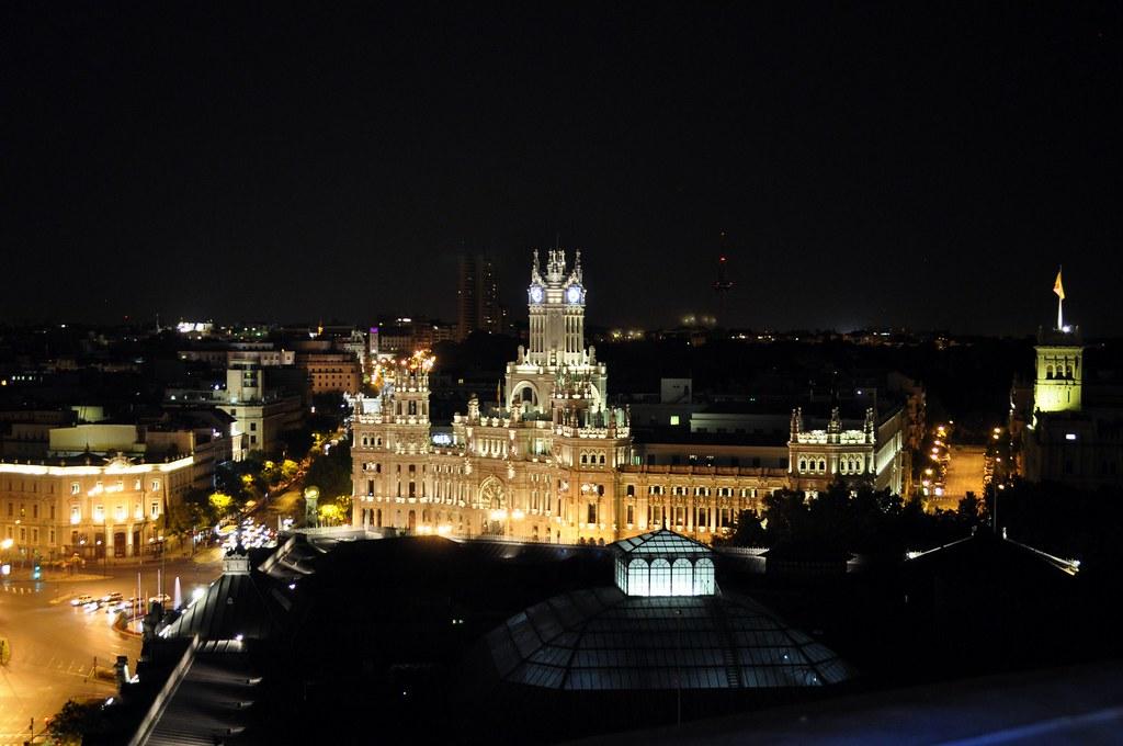Restaurante Tartan Roof azotea del círculo de bellas artes de madrid, oasis en el cielo - 15153870802 a454376836 b - Azotea del Círculo de Bellas Artes de Madrid, oasis en el cielo