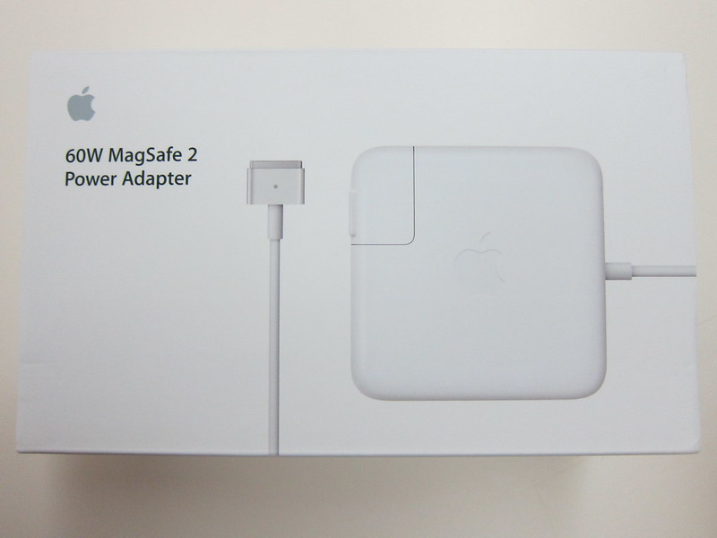 Apple 60W MagSafe 2 Power Adapter - Box Front
