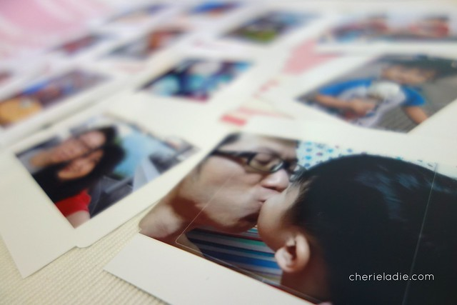 Loads of photo stickers printed using the Selphy printer.