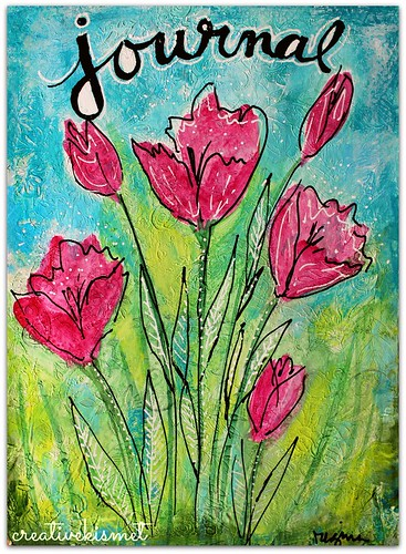 art journal cover by Regina Lord