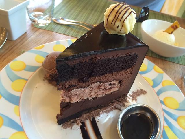 Death by Chocolate torte - The Trellis Restaurant