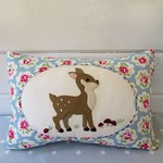 Woodland Deer Cushion