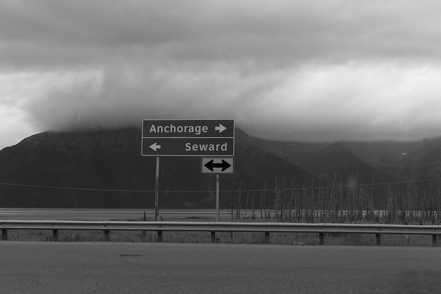 Heading South Towards Seward!