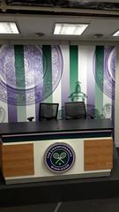 All England Club interview room, Wimbledon