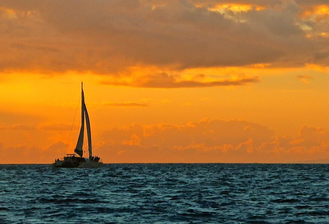 Sail into the Maui sunset