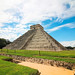 The Kukulkan Pyramid in Chichen-Itza by DGNacho.com