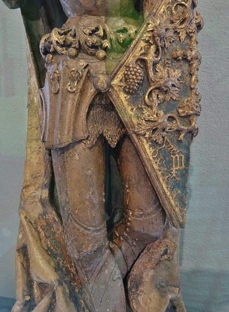 ca. 1500 - 'St. George' (Pedro Millán), Sevilla, Convento de Santa Florentina, Écija, V&A, London, England