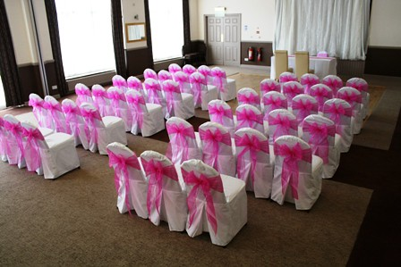 Chair Cover Pink 1