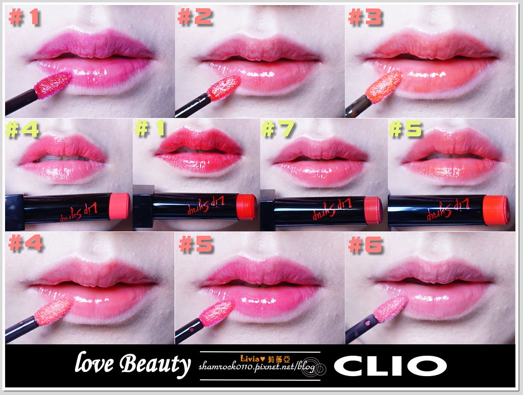 CLIO唇膏加唇釉試色-32