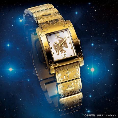 把最強黃金十二宮戴在手上!《聖闘士星矢》誕生30週年紀念 黃金十二宮黃金聖衣手錶 聖闘士星矢 黄金十二宮 ゴールドクロス オフィシャルウォッチ