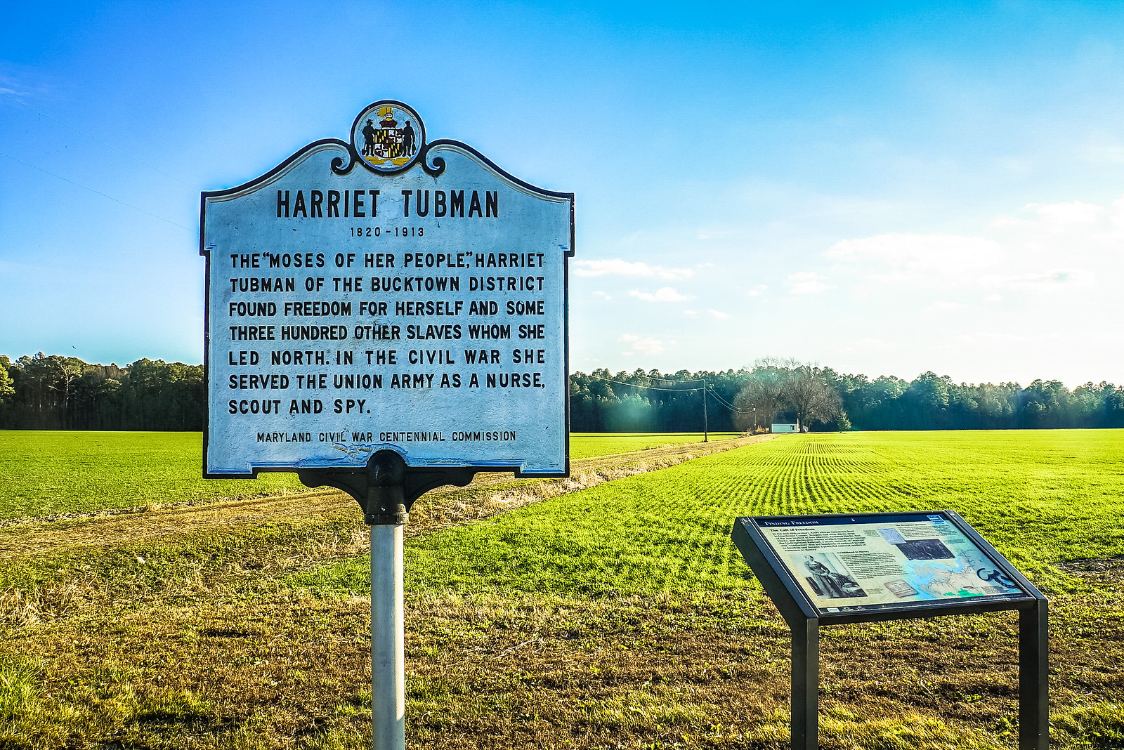 Photo Friday: Harriet Tubman's Underground Railroad Byway & Visitor Center, Maryland, USA
