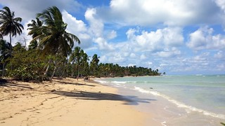 Dominican resort beach