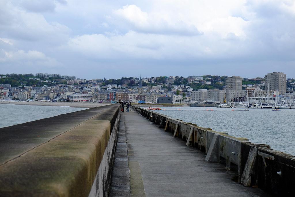La digue nord, Le Havre