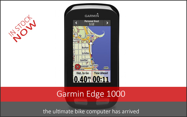 Garmin Edge 1000 - In stock