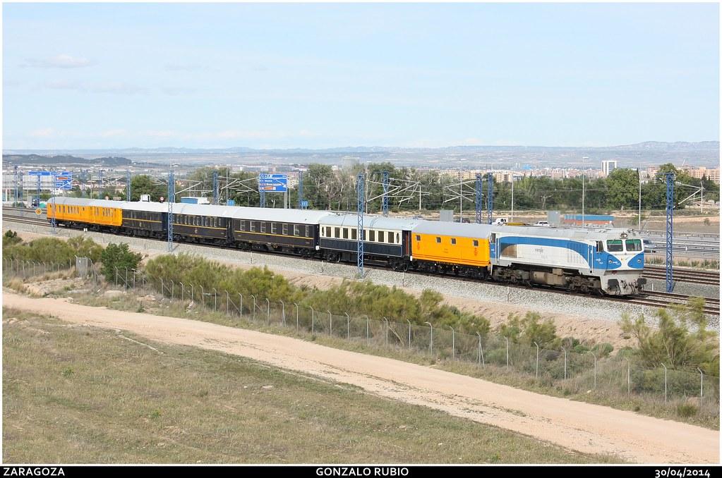 Circulaciones Especiales, Locomotoras de Renfe Integria 14108912073_a3c89a4f79_b