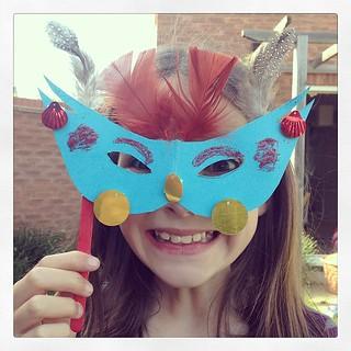 Josie in ultra scary mode. #bostikfamilycraftbloggers @tots100