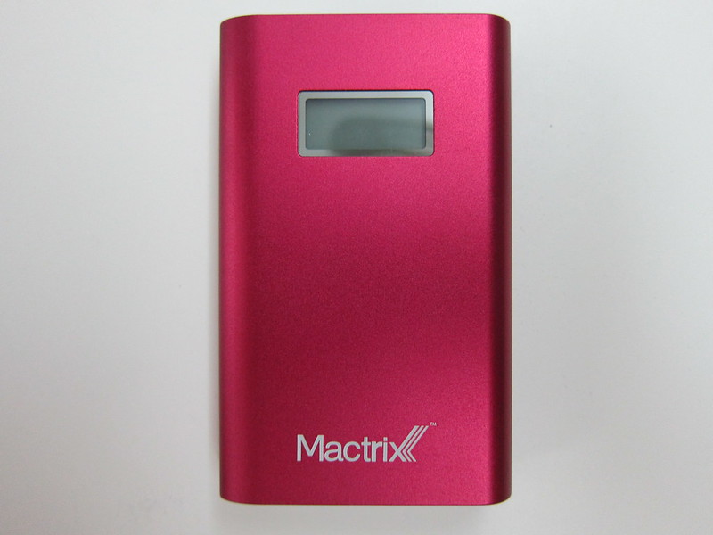 Mactrix Dual 9000 Portable Battery - Front