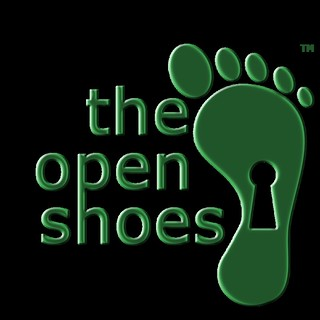 Logotipo de The Open Shoes.