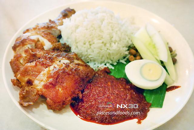 village park restaurant nasi lemak