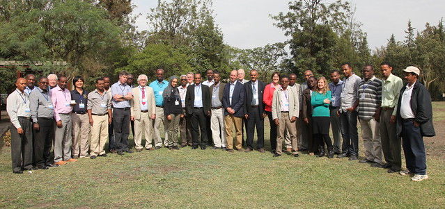 USAID Feed the Future Innovation Laboratory for Small Scale Irrigation (FtF ILSII) project first annual planning meeting participants