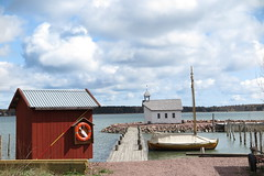 Seaside scenery of Åland