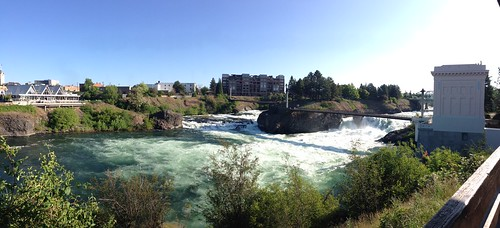 Spokane Falls...Downtown is kind of charming in its own way by gmwnet