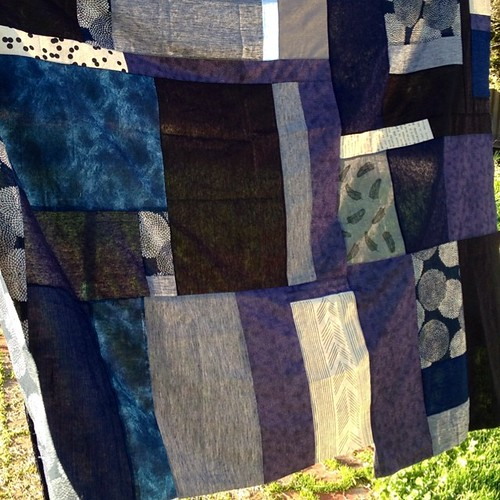 The bruise quilt top. #quilting #craftcamp