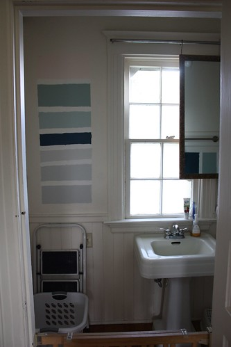Before: Powder Room from Kitchen