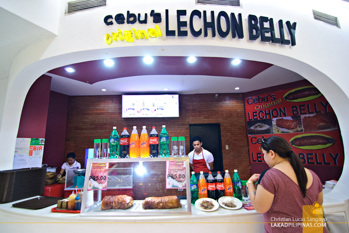 Cebu's Original Lechon Belly at Eastwood Mall