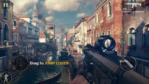 ฉากแรกสุดของเกมคือที่ Venice