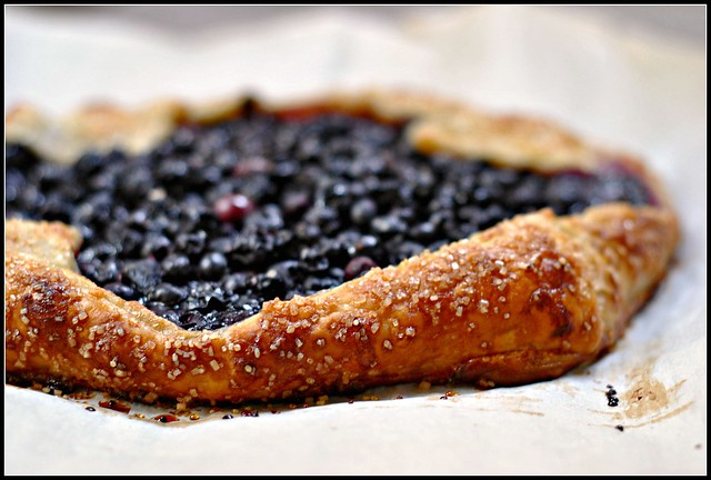 Easy Blueberry Crostata 1