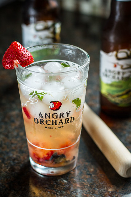 Angry Orchard Elderflower Mojito