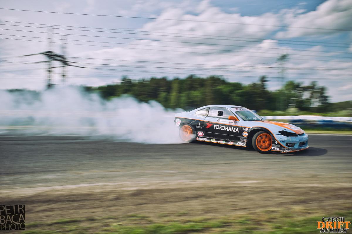 Czech Drift Series, CDS, Drift Allstars, Autodrom Sosnová, Česká Lípa, Nissan S15 Silvia, Christer Halverson,