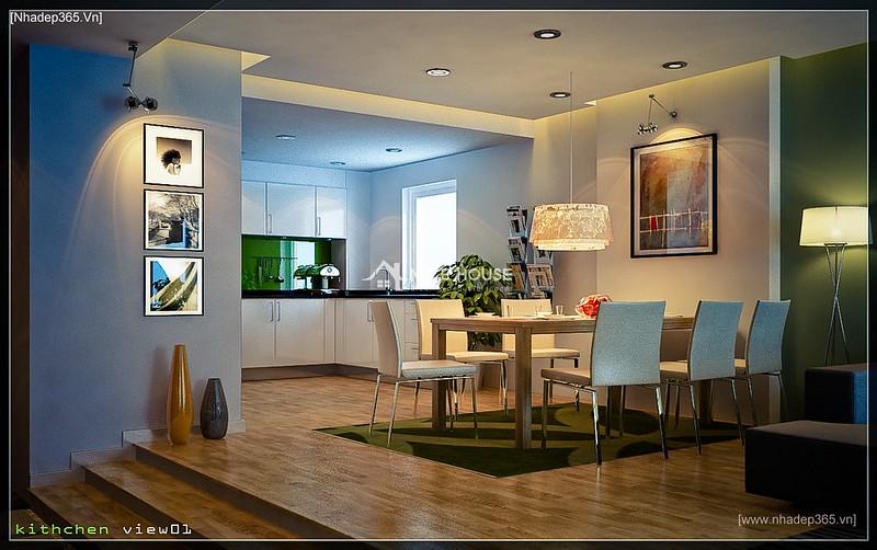 Thiết kế nội thất chung cư M5 - Anh Hoàn_1