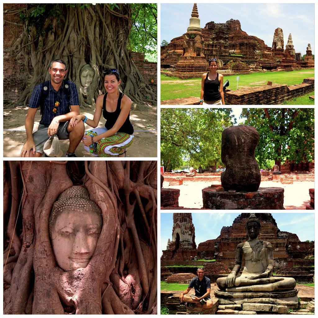 Visita a Ayutthaya