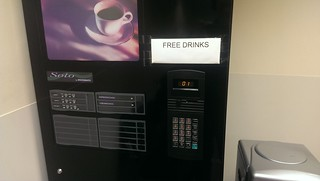 Free Drinks at the Hospital?