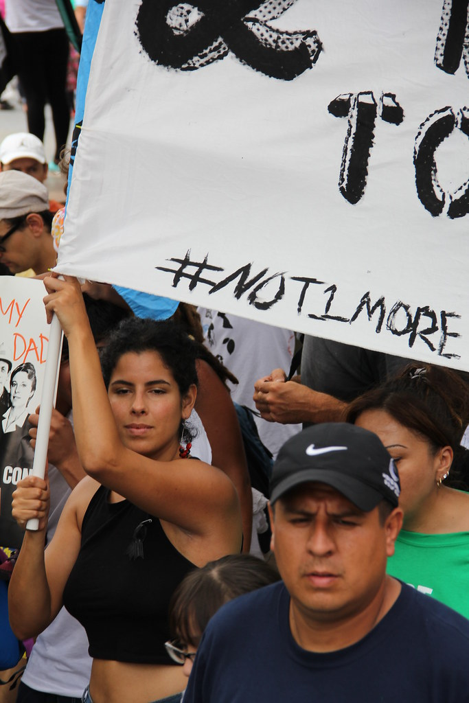 #Not1More #Ni1Más March and Rally in DC