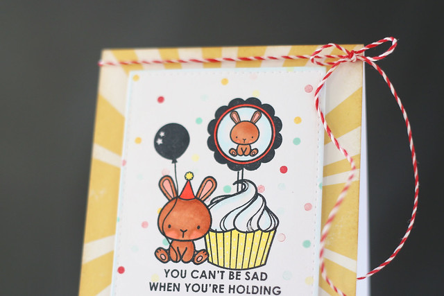 carnival toppers {mama elephant stamp highlight}