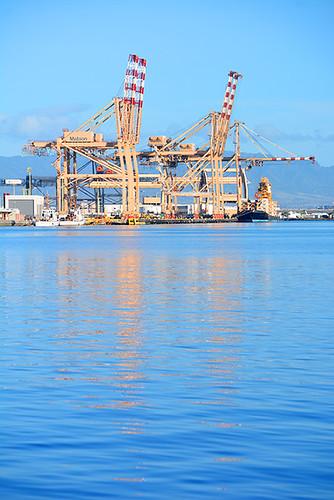 Matson cranes