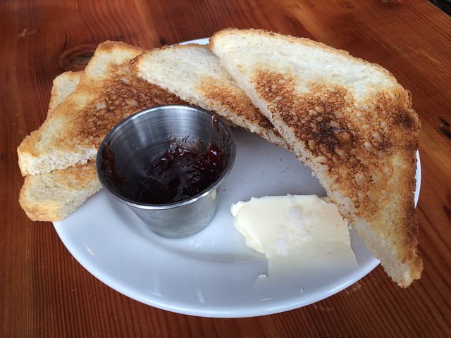 Toast and jam - Clyde Common