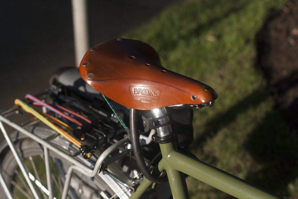 Brooks B17 Saddle Long Haul Trucker