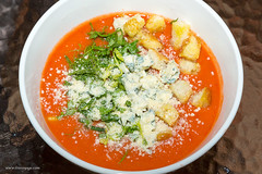 meal, vegetable, tomato soup, vegetarian food, food, dish, soup, cuisine,