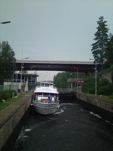 Сайменский канал: шлюз Mälkiä