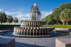Palmetto Fountain, Waterfront Park