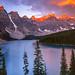 North America Moraine Lake by Mark Wassell